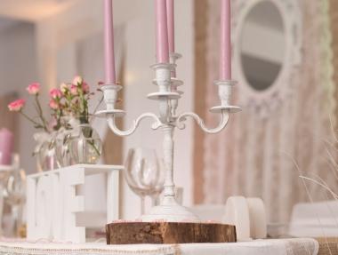 Hochzeit Vintage Altrosa